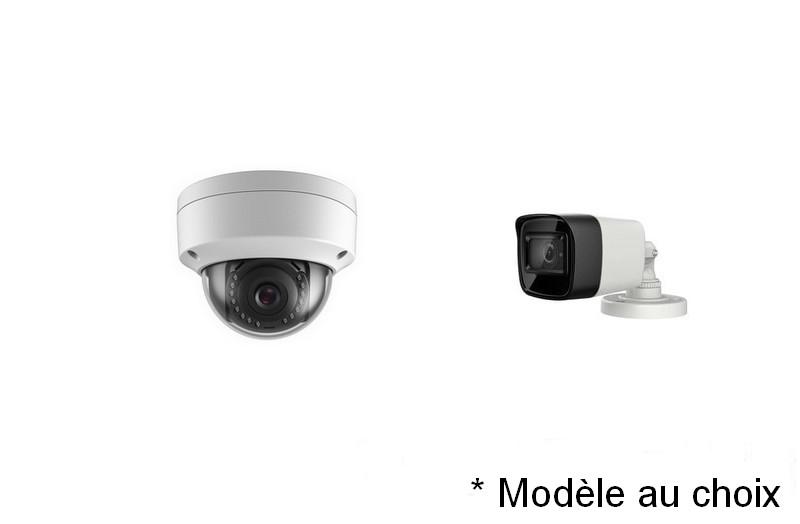 Kit Vidéo Eco IP 8 caméras 2 Mégapixels [KAM-KIT-ECO-8CAM-IP]