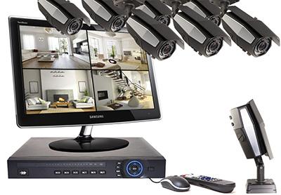 Fonctionnement et installation du kit 8 caméras :
