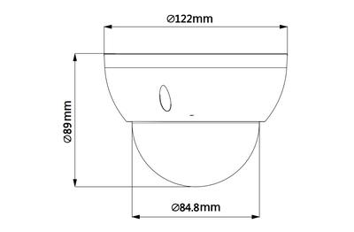 Dôme motorisé IP 4 Mégapixels [DAHUA.IP_SD22404T-GN(2.7mm-11mm)]