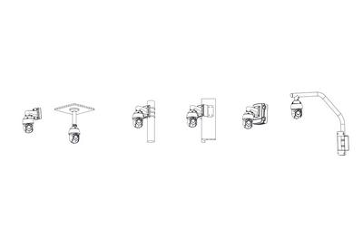 Dôme motorisé IP 2 Mégapixels [DAHUA_SD49225XA-HNR(4.8mm-120mm)]