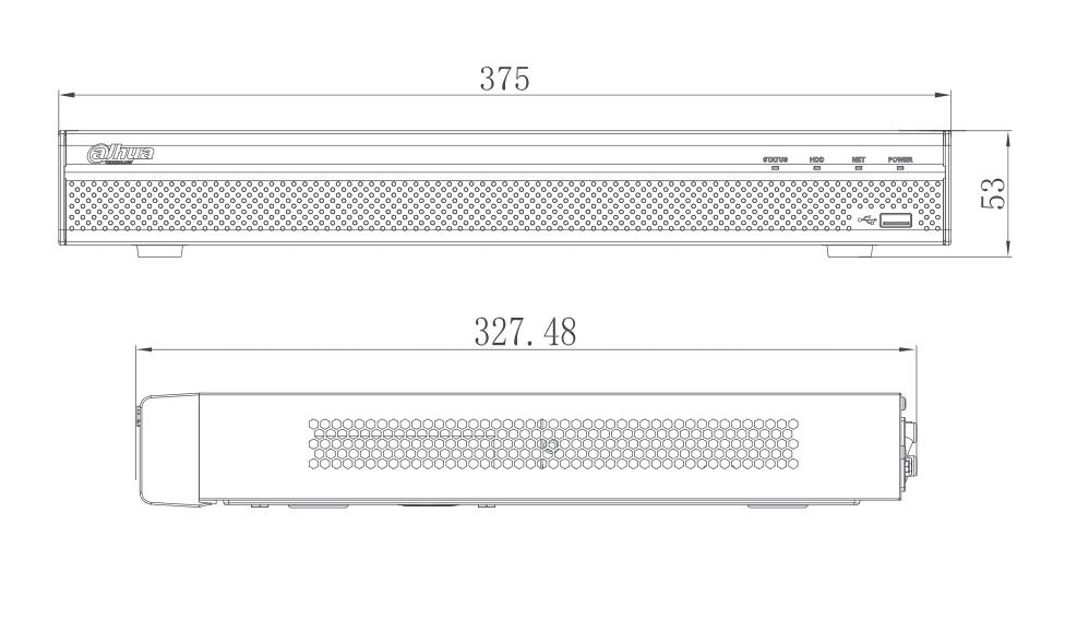 Enregistreur IP 8 caméras [DAHUA.IP_NVR4208-8P-4KS2/L]